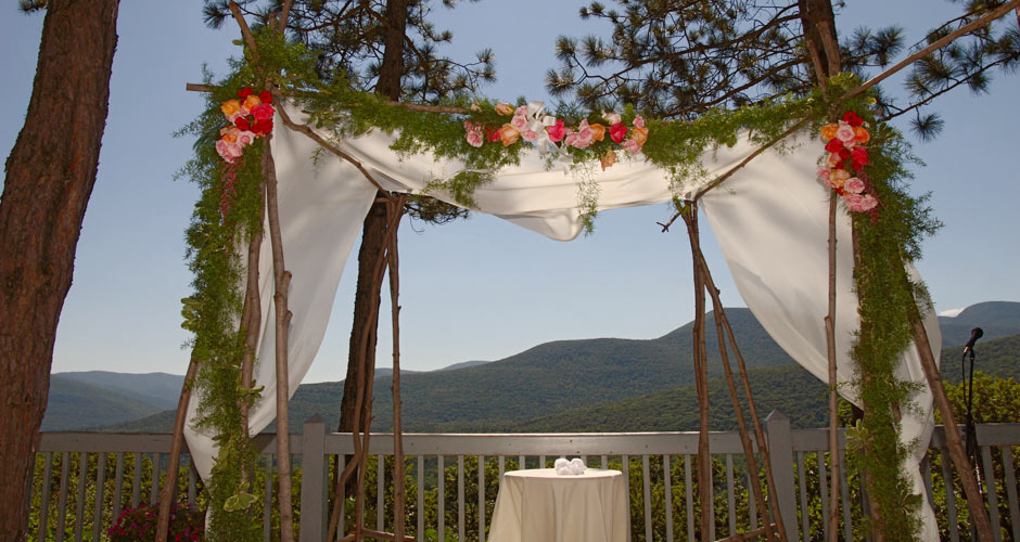 weddings mountain decoration picture