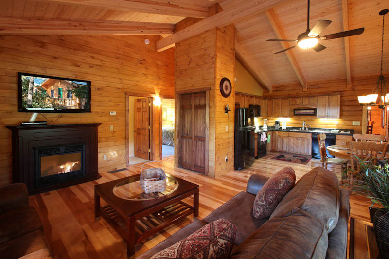Log Home Lodging